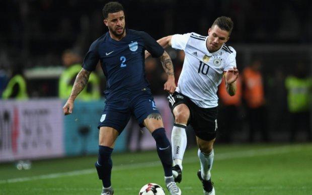 Германия - Англия 1:0 Видео гола и обзор матча