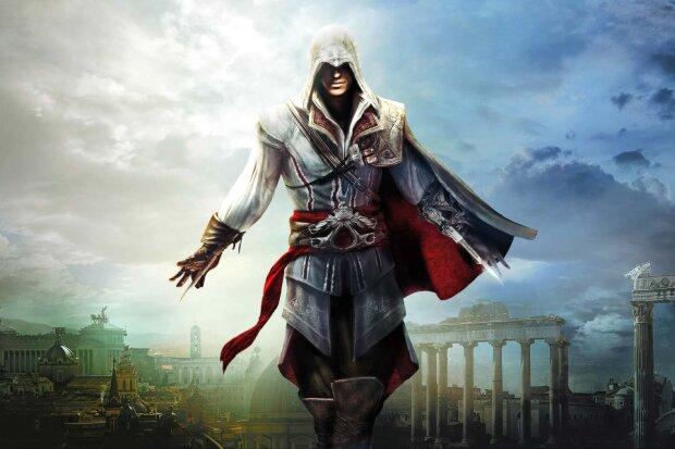 игра Assassin's Creed, заставка