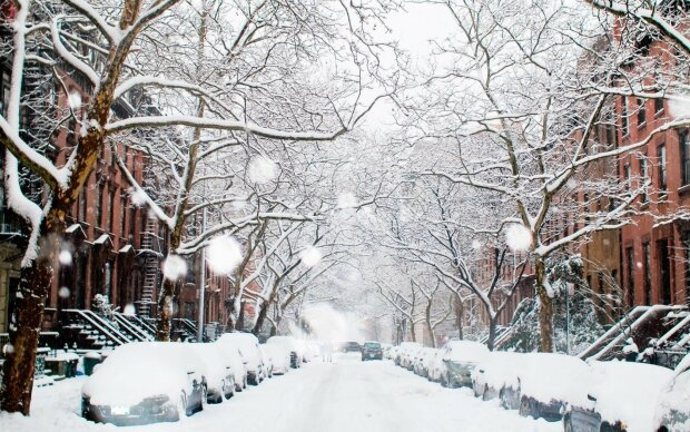 Франківськ не впізнати після першого снігу: казковий прогноз на 3 грудня