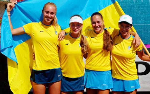 Українські тенісистки порвали іспанок на Кубку Федерацій