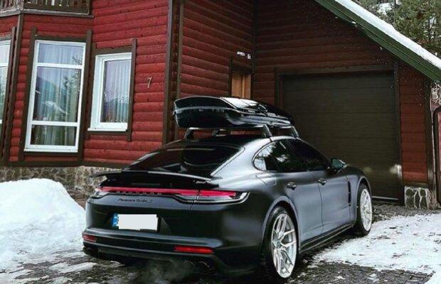 У Буковелі помітили Porsche, фото: Instagram vehicles.exclusive