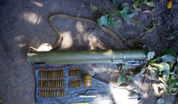 Правоохранители изъяли у жителя  Донетчины арсенал оружия (фото)