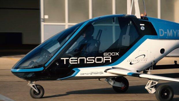 Літаюче таксі Tensor 600X, кадр з відео
