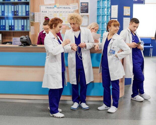 "Сериал ""Люся интерн"", фото: канал "" Украина"""