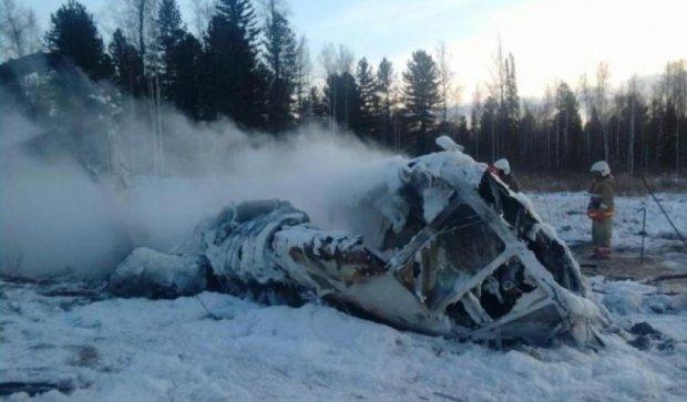 Аварія вертольота в Росії: рятувальники знайшли перше тіло