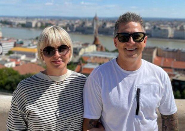 Олександр Педан з дружиною, фото з Іnstagram