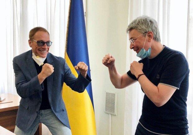 Netflix отправил Ван Дамма в Киев
