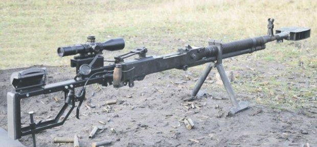 Волонтеры из пулемета сделали винтовку-трансформер