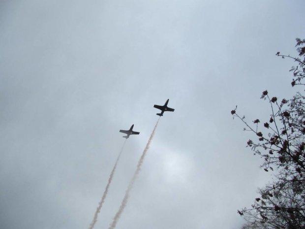 Півсотні ветеранів АТО злетіли у небо над Харковом