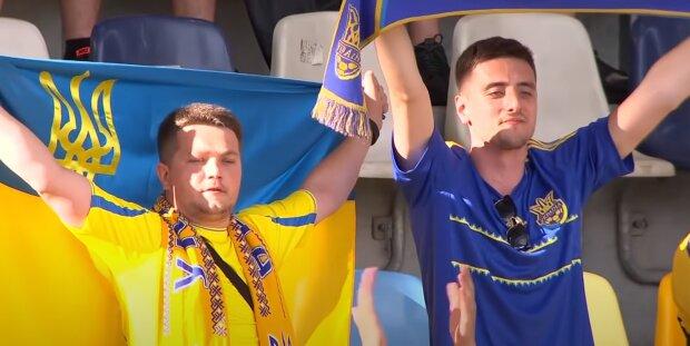 Українські фанати, скріншот: Youtube