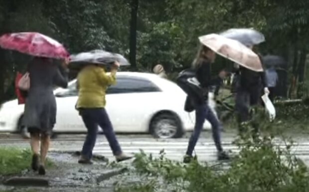 непогода, скриншот из видео
