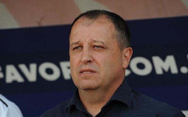 Тренер Зари задумался об отставке