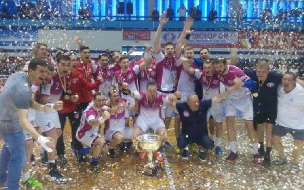 Запорізький Мотор став володарем Кубку України з гандболу