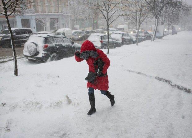 Снігопад в Україні, фото: REUTERS