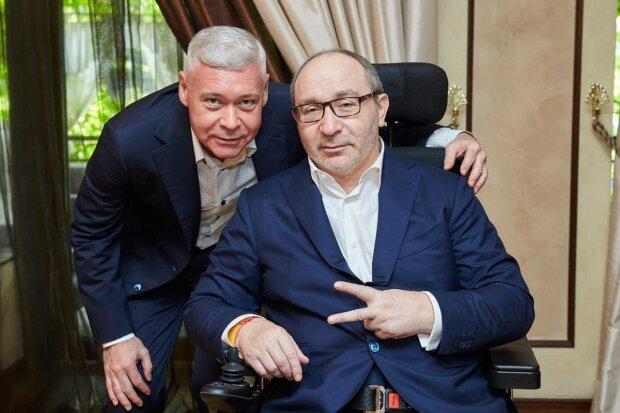 Игорь Терехов и Геннадий Кернес, фото: Facebook