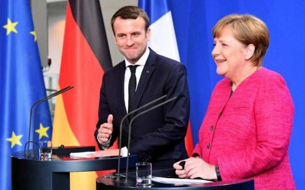 Макрон и Меркель прокомментировали воображаемое государство Захарченко