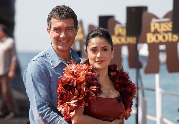 """Сальма Хайєк зворушливо привітала Антоніо Бандераса: """"Після 20 років..."""""""