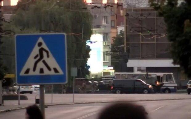 Теракт в Луцке, фото из соцсетей