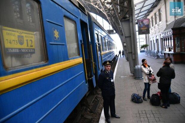 поезда в Россию