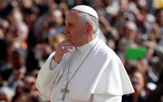 Папа римський помолився за Україну: відео