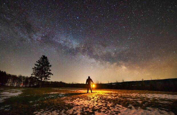 Зоряне небо, ілюстративне фото