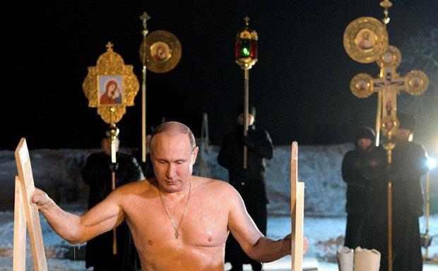 Путин искупался на Крещение в таинственном месте: боится покушения