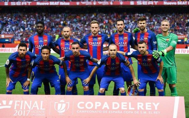 Барселона спасла сезон, завоевав Кубок Испании