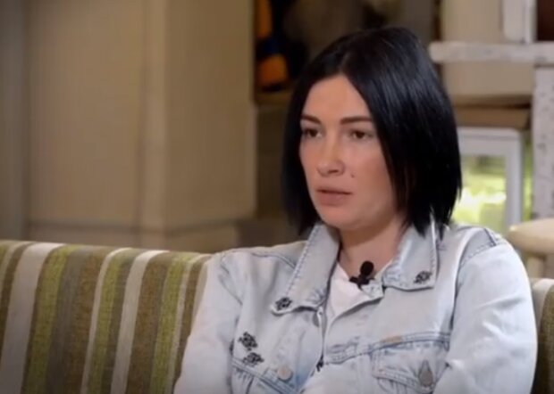 Анастасия Приходько, скриншот видео
