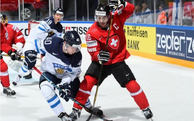 Швейцарія - Фінляндія 2:3 Відео найкращих моментів матчу ЧС-2017 з хокею