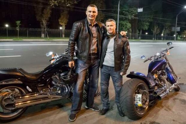 Александр Густелев и Виталий Кличко