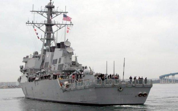 Горе-эсминец вернулся на базу в Японии