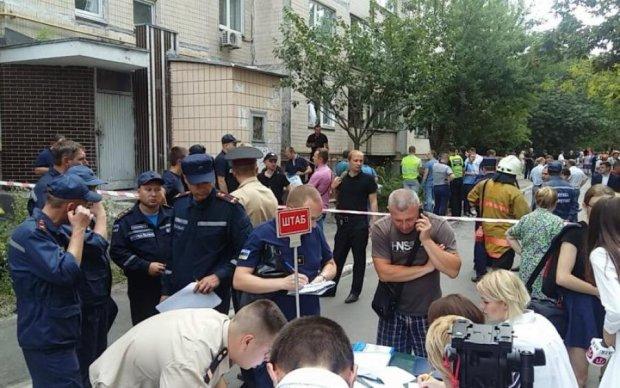 Жертва взрыва в Голосеево предрекла свою смерть