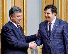 Петро Порошенко та Михеїл Саакашвілі