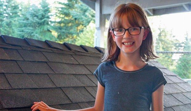 Дев'ятирічна дівчинка робить притулки для бездомних (фото)