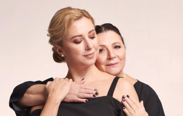 Тоня и Нина Матвиенко, фото: marieclaire.ua