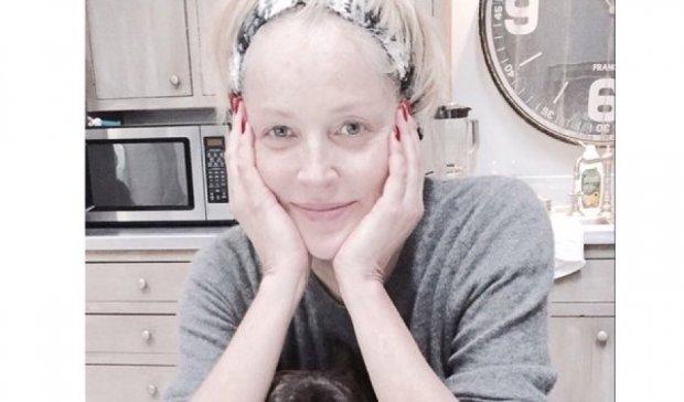 57-річна Шерон Стоун вразила обличчям без макіяжу (фото)