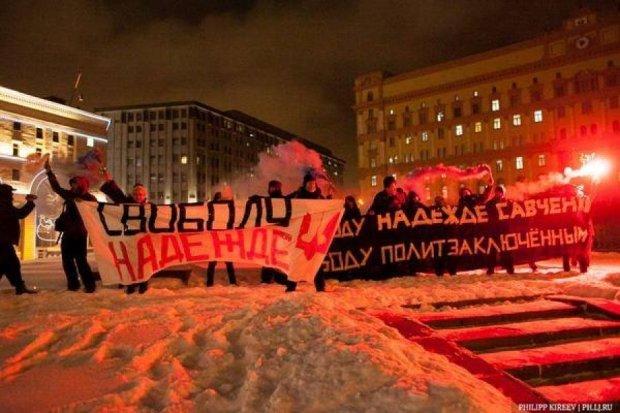 Задержанные из-за Савченко активисты объявили голодовку