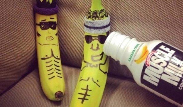 Американец заработал на декорации бананов 100 тыс  долларов