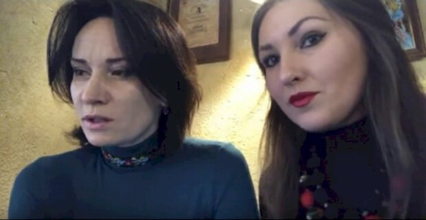 София Федина и Маруся Звиробий, скриншот с You Tube