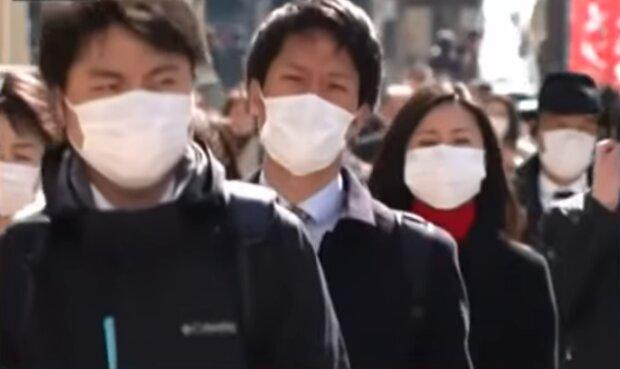 Коронавірус в Японії, скріншот: YouTube