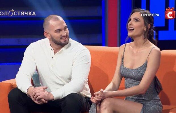 Илья Рыбальченко и Дана Оханская, скриншот с видео