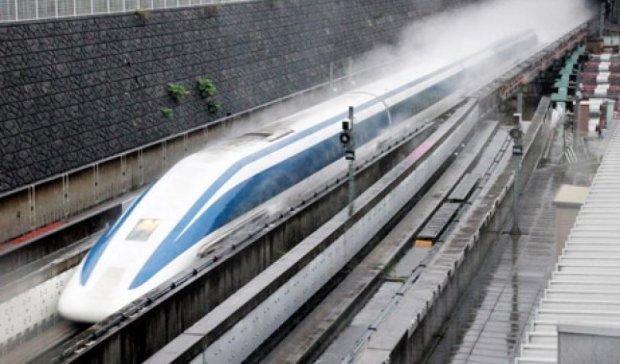 Японський потяг встановив світовий рекорд вдруге за тиждень