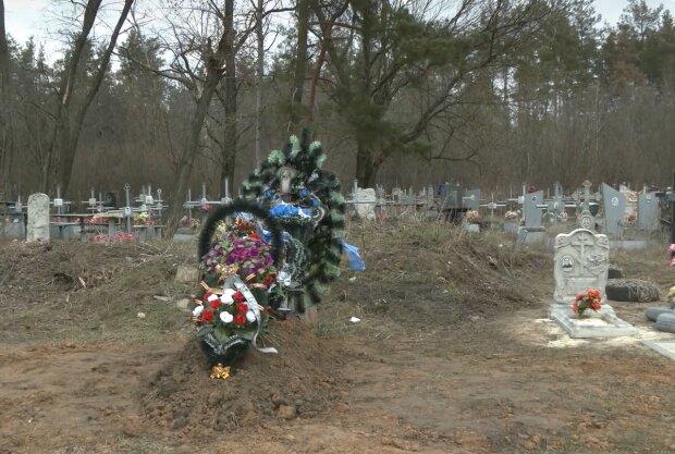 В морге перепутали тела умерших, кадр из видео