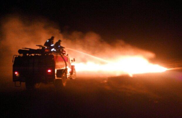 Пожежі на Донбасі, фото: facebook.com/pressjfo.news