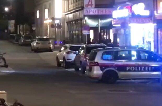 Теракт у Відні, фото: кадр з відео