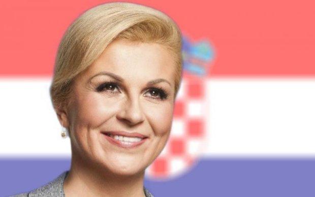 Президент Хорватії показала клас моделям Playboy