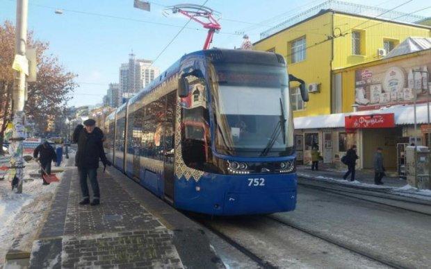 Киевляне получат трамваи будущего: фото