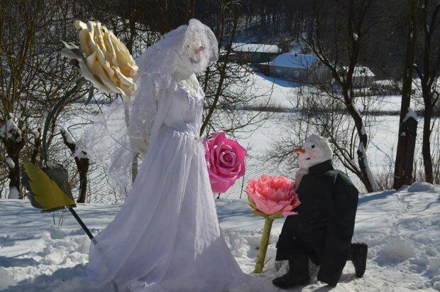 Закохані Сніговики, фото: Аня Янкович