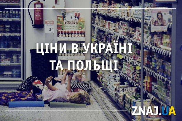 Ціни на продукти, одяг, транспорт та житло: де дешевше - у Польщі чи Україні?