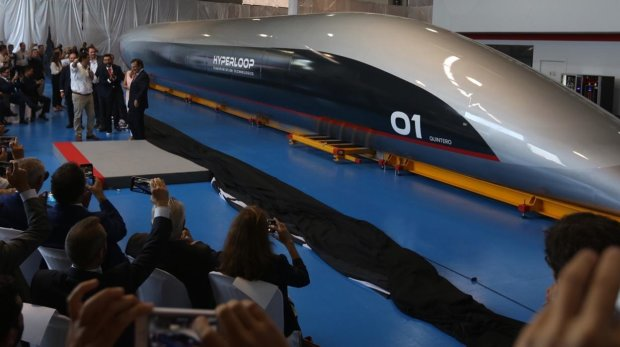 прототип капсулы Hyperloop